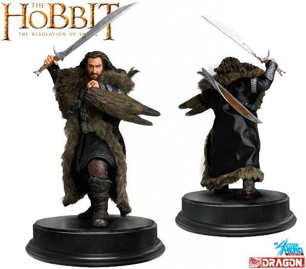 Hobbit-Thorin-Oakenshield-Dragon-Models-01