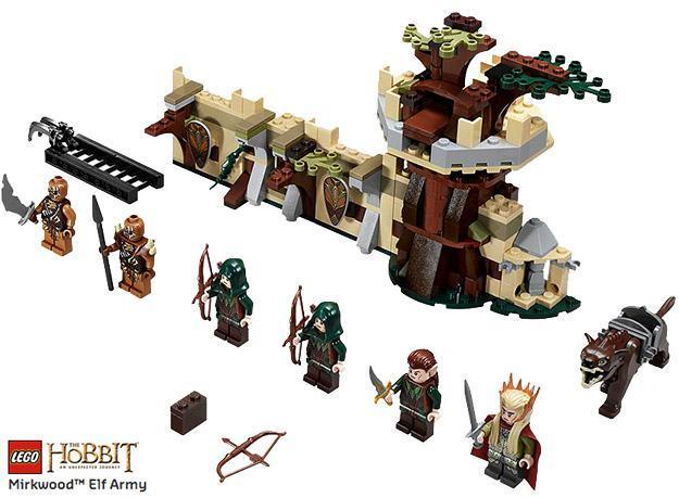 LEGO-Hobbit-Mirkwood-Elf-Army