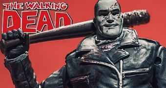 Action Figure The Walking Dead Comics: Negan com Lucille