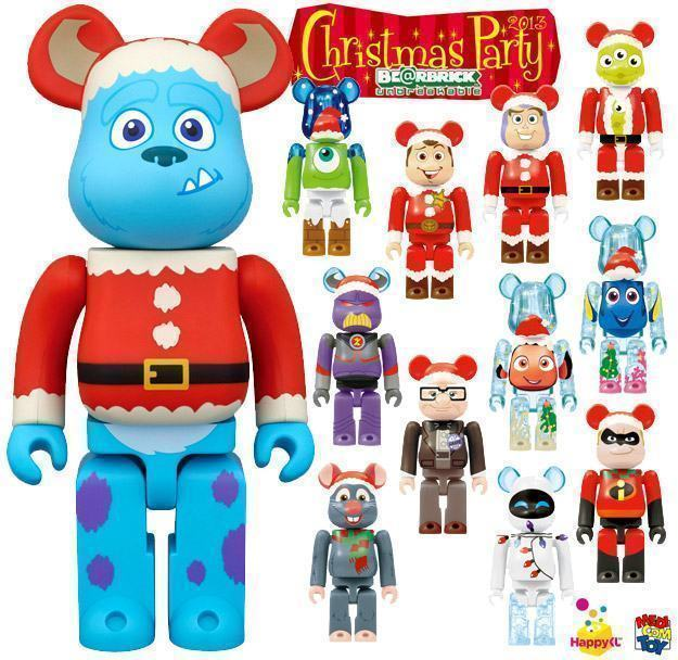 PIXAR-Christmas-Party-BEARBRICK-2013-Happy-Lottery-01