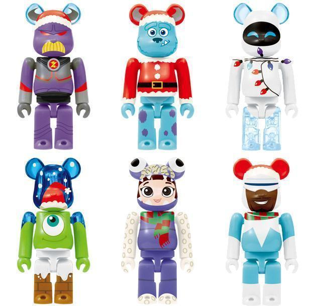 PIXAR-Christmas-Party-BEARBRICK-2013-Happy-Lottery-03