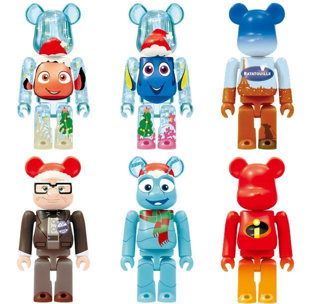 PIXAR-Christmas-Party-BEARBRICK-2013-Happy-Lottery-04
