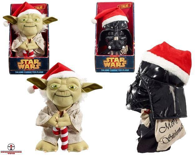Star-Wars-Santa-Yoda-e-Darth-Vader-Talking-Plush