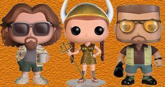 Bonecos Pop! do Filme O Grande Lebowski
