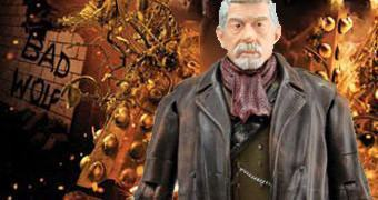 Action Figure de John Hurt como o Outro Doctor (Doctor Who: War Doctor)