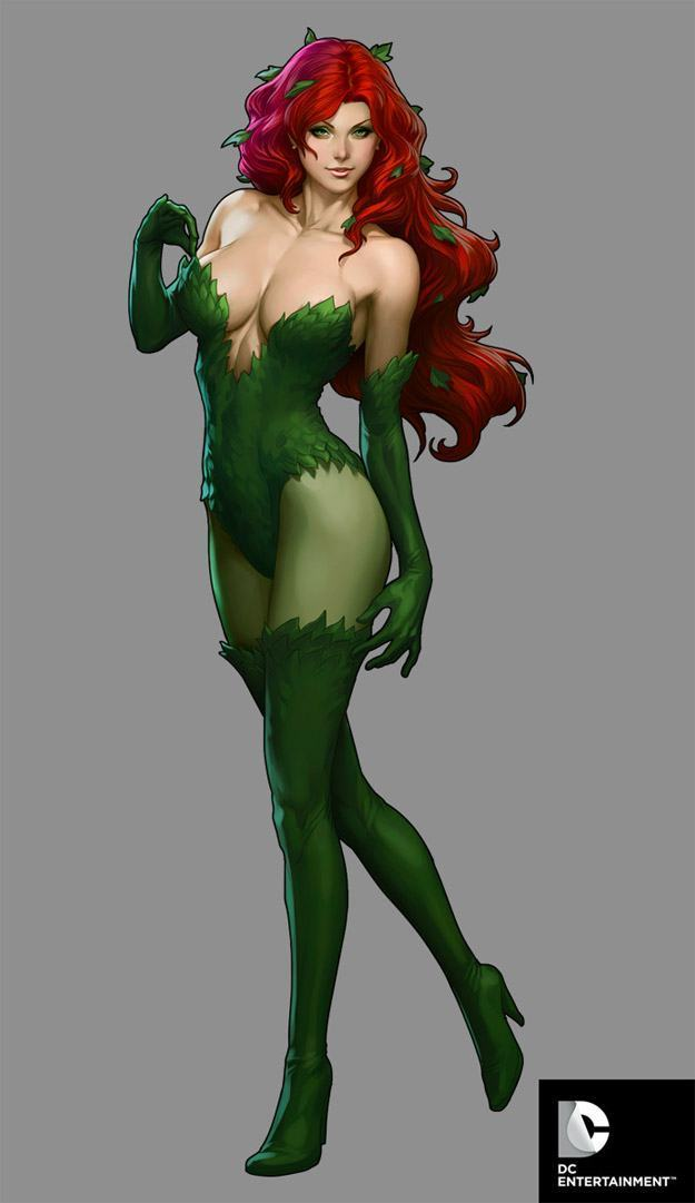 DC-Comics-Cover-Girls-Poison-Ivy-Ilustracao-02
