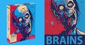 Quebra-Cabeça Zumbi: Zombie Brains (Hope) Pôster