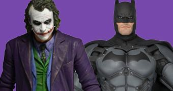 Coringa de Heath Ledger e Batman: Arkham Origins – Action Figures Neca Escala 1:4