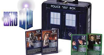 Super Trunfo Doctor Who em Lata TARDIS
