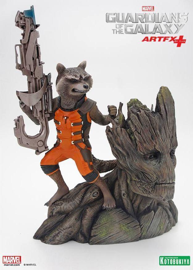 Guardioes-da-Galaxia-Rocket-Raccoon-and-Groot-ArtFX-Plus-02