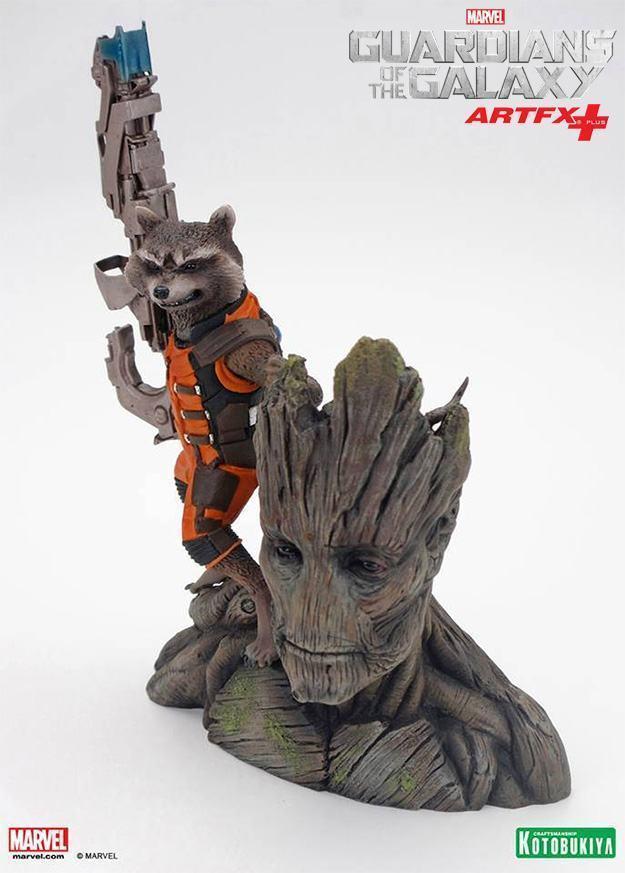 Guardioes-da-Galaxia-Rocket-Raccoon-and-Groot-ArtFX-Plus-03