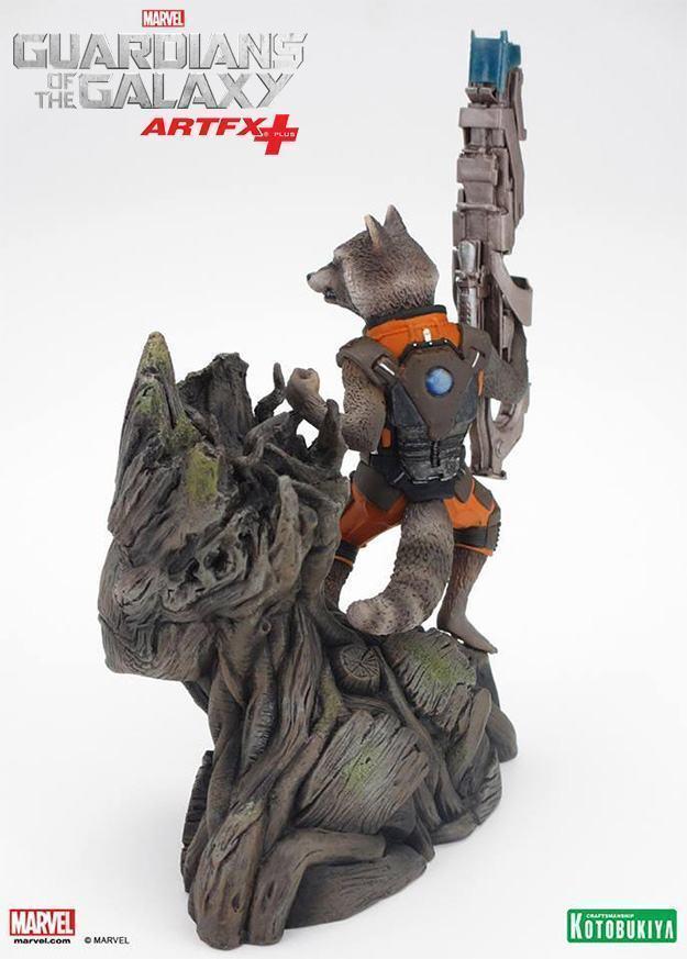Guardioes-da-Galaxia-Rocket-Raccoon-and-Groot-ArtFX-Plus-04