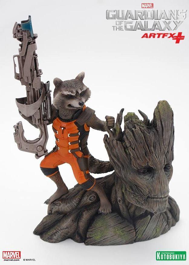 Guardioes-da-Galaxia-Rocket-Raccoon-and-Groot-ArtFX-Plus-07