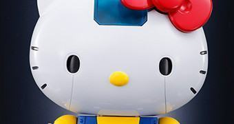 Hello Kitty Chogokin – Figura de Metal Die-Cast 40 Anos