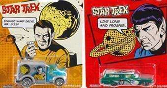 Carrinhos Hot Wheels Pop Culture: Star Trek
