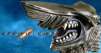 Máscara do Kaiju Knifehead do Filme Pacific Rim