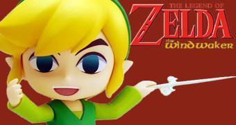 Boneco Nendoroid Link – The Legend of Zelda: The Wind Waker