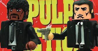 Pulp Fiction Minimates: Vincent Vega e Jules Winnfield