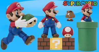 "Super Mario S.H. Figuarts – Action Figure ""State of the Art"" da Bandai Tamashii"