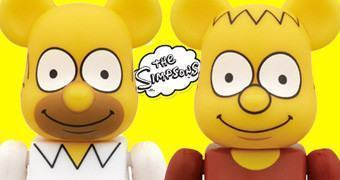Os Simpsons Be@rbricks: Homer e Bart