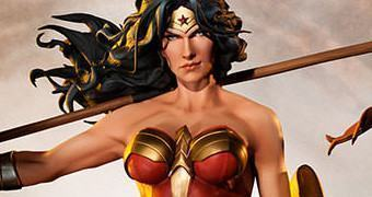 Wonder Woman Premium Format – Estátua DC Comics Sideshow Collectibles
