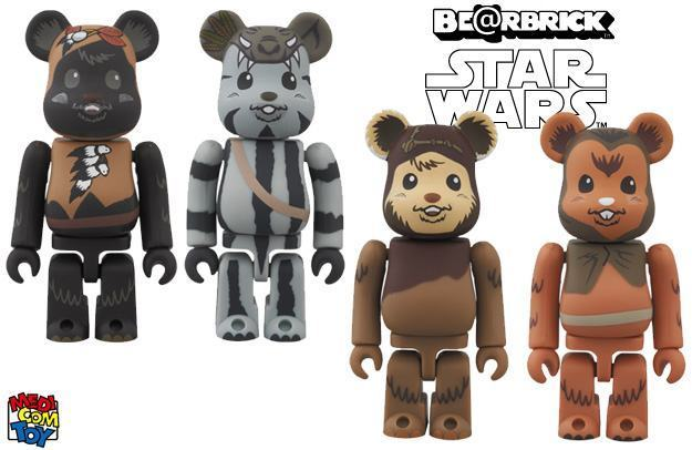 Bearbricks-Star-Wars-Ewoks-01