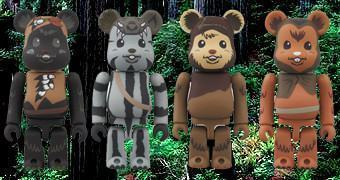 Be@rbricks Star Wars Ewoks