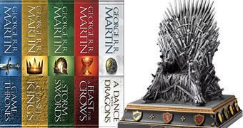 Iron Throne Bookend – Apoio de Livros Game of Thrones