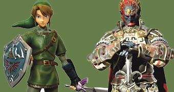 Estátuas do Videogame Legend of Zelda Twilight Princess
