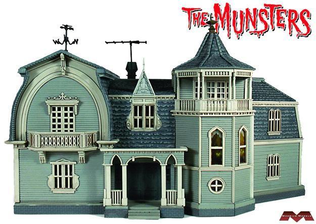 Munsters-House-Finished-Model-Kit-01