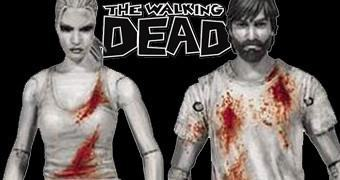 The Walking Dead Comics: Action Figures de Rick Grimes e Andrea