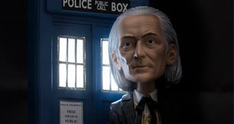 Doctor Who: Boneco Bobble Head do 1º Doctor (William Hartnell)