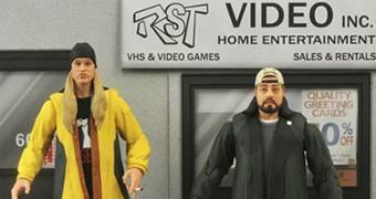 Action Figures Jay and Silent Bob 20 anos (Jason Mewes e Kevin Smith)