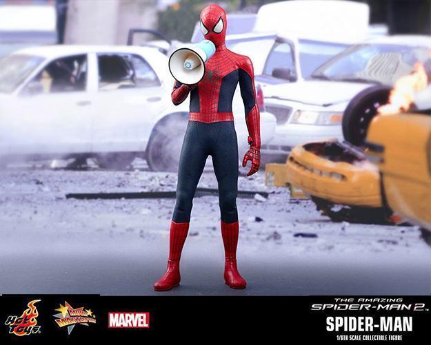 Action Figures: Marvel, DC, etc. Amazing-Spider-Man-2-Spider-Man-MMS244-Collectible-Figure-04