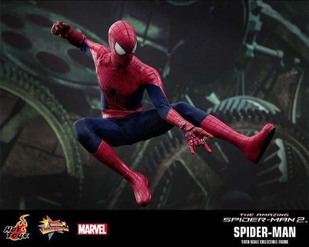 Action Figures: Marvel, DC, etc. Amazing-Spider-Man-2-Spider-Man-MMS244-Collectible-Figure-05