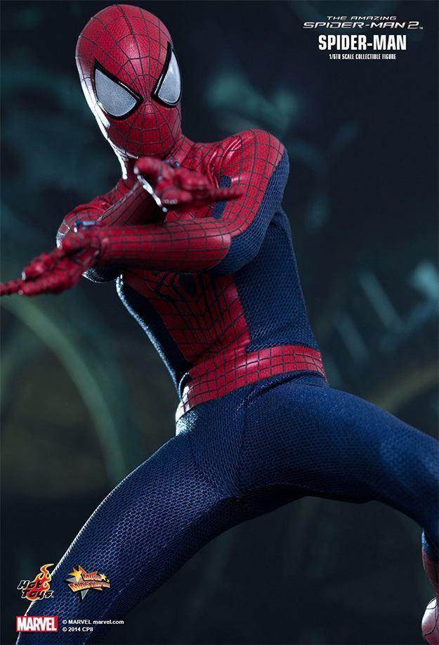 Action Figures: Marvel, DC, etc. Amazing-Spider-Man-2-Spider-Man-MMS244-Collectible-Figure-06