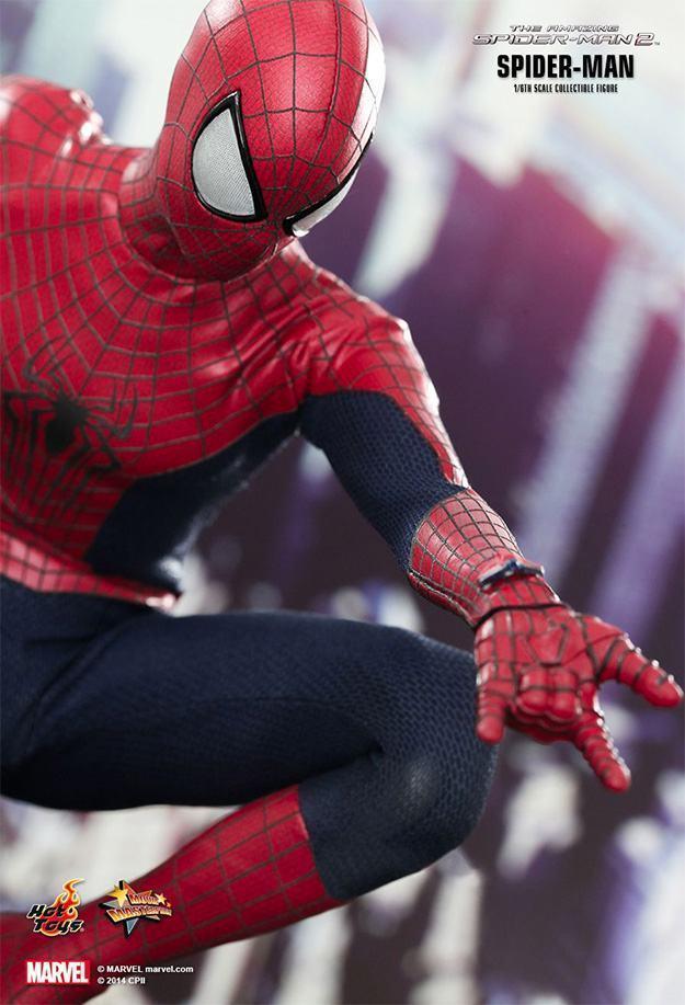 Action Figures: Marvel, DC, etc. Amazing-Spider-Man-2-Spider-Man-MMS244-Collectible-Figure-07