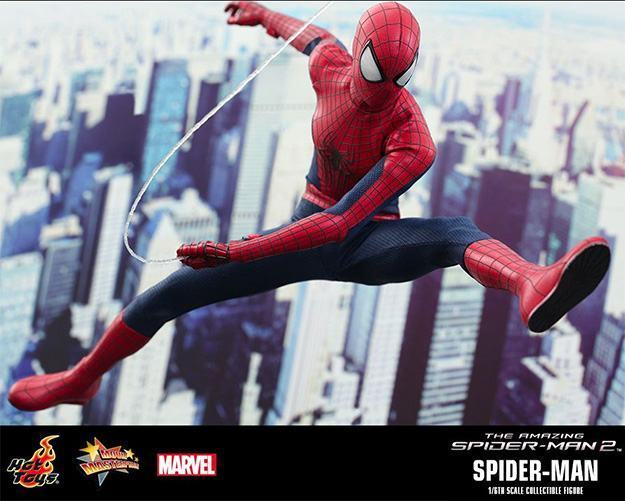 Action Figures: Marvel, DC, etc. Amazing-Spider-Man-2-Spider-Man-MMS244-Collectible-Figure-08