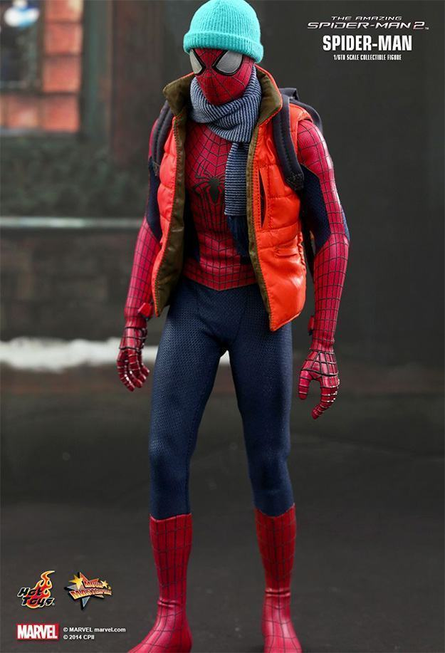Action Figures: Marvel, DC, etc. Amazing-Spider-Man-2-Spider-Man-MMS244-Collectible-Figure-10