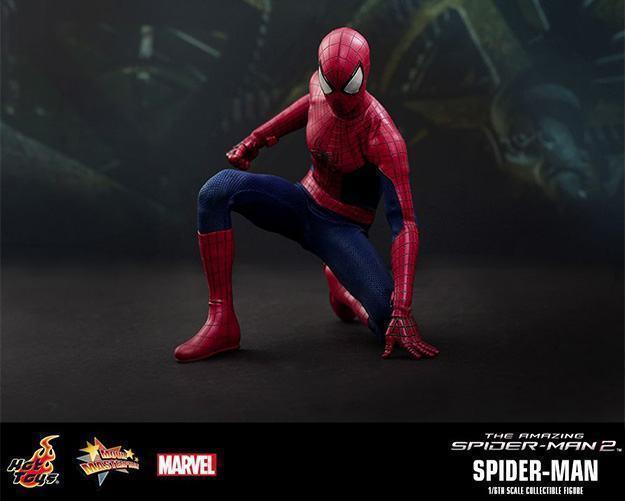Action Figures: Marvel, DC, etc. Amazing-Spider-Man-2-Spider-Man-MMS244-Collectible-Figure-13