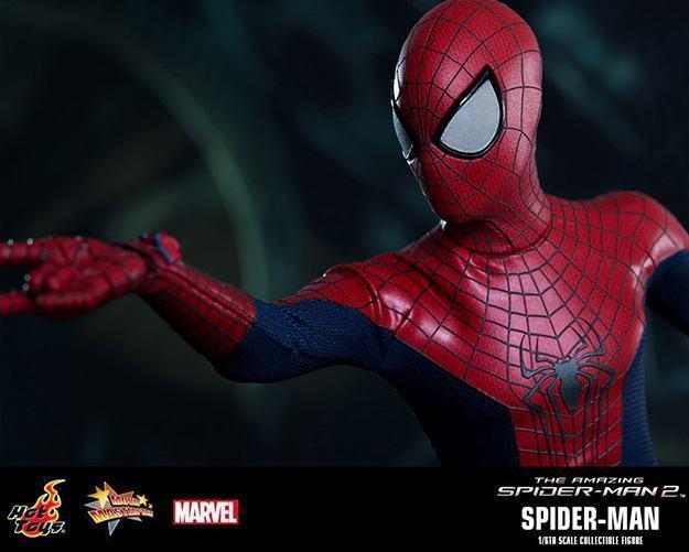 Action Figures: Marvel, DC, etc. Amazing-Spider-Man-2-Spider-Man-MMS244-Collectible-Figure-14