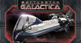 Battlestar Galactica Colonial One – Kit Plástico em Escala 1:350