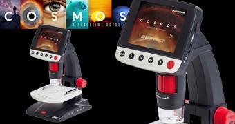 Microscópio Digital de Mesa da Série Cosmos: A Space-Time Odyssey