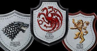 Brasões das Casas Nobres de Game of Thrones: Stark, Lannister e Targaryen