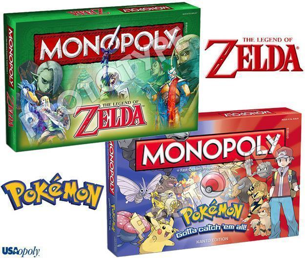 Monopoly-The-Legend-of-Zelda-e-Pokemon