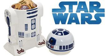 Pote de Cookies Star Wars R2-D2