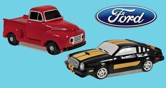 Potes de Cookies Ford Collection: Ford F-1 Truck e Mustang Cobra II