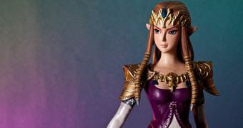 Estátua 1:4 da Princesa Zelda no Game Legend of Zelda: Twilight Princess