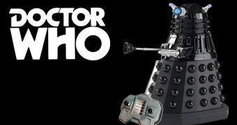 Dalek Sec Preto com Controle Remoto (Doctor Who)