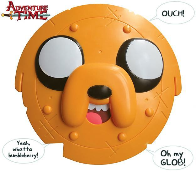 Escudo-Hora-de-Aventura-Adventure-Time-Jake-the-Dog-Shield-01